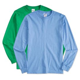 Gildan 100% Cotton Long Sleeve T-shirt