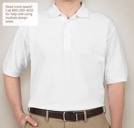 Devon & Jones Pima Pique Polo - Color: White