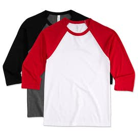 Canada - Bella + Canvas Lightweight Baseball Raglan
