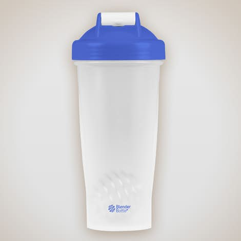 28 oz. Blender Bottle - Blue / Clear