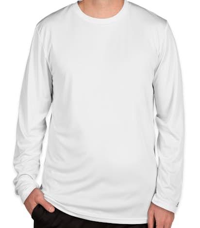 Russell Athletic Dri Power® Long Sleeve Performance Shirt - White