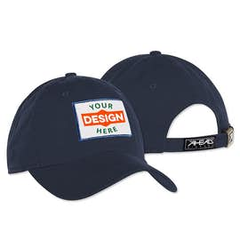 Printed Rectangle Patch Baseball Hat