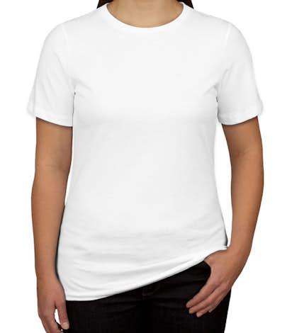 Canada - Bella Ladies Jersey T-shirt - White