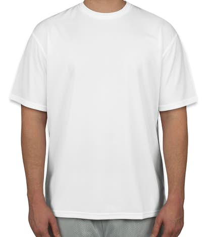 Custom sport tek dri mesh performance shirt design short for Custom dri fit t shirts
