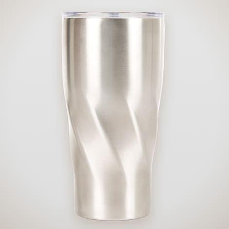 20 oz. Vacuum Insulated Swirl Tumbler - Silver