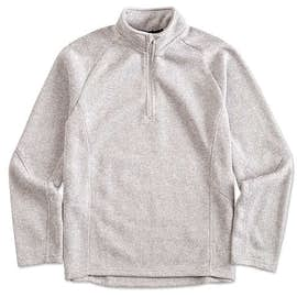 Devon & Jones Quarter Zip Sweater Fleece Pullover