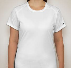 Badger B-Dry Ladies Performance Shirt - Color: White