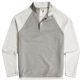 Charles River Snap Button Pullover With Pockets