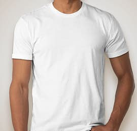 Next Level 60/40 T-shirt - Color: White