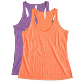 Bella Ladies Tri-Blend Racerback Tank