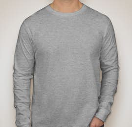 Canvas Long Sleeve Jersey T-shirt - Color: Athletic Heather
