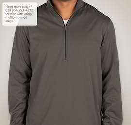 Port Authority Lightweight Active Quarter Zip Soft Shell Jacket - Color: Grey Steel