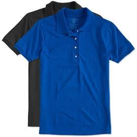 Jerzees Ladies Spotshield 50/50 Jersey Polo