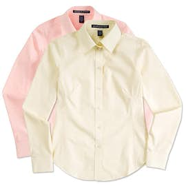 Devon & Jones Ladies Solid Dress Shirt