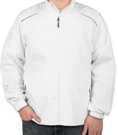Core 365 Lightweight Full Zip Jacket - White