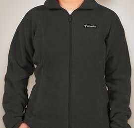 Columbia Ladies Benton Springs Full Zip Fleece Jacket - Color: Charcoal Heather