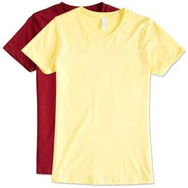 Next Level Juniors Jersey T-shirt