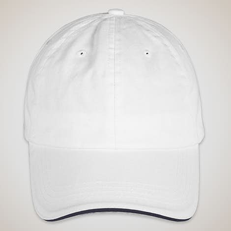Bayside Sandwich Bill USA Hat - White / Navy