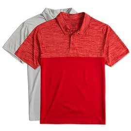 Augusta Tonal Heather Performance Polo