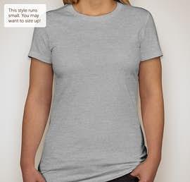 Bella Juniors Favorite T-shirt - Color: Athletic Heather