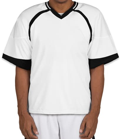 Teamwork Revolution Lacrosse Jersey - White / Black