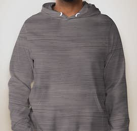 Bella + Canvas Ultra Soft Pullover Hoodie - Color: Dark Grey Marble