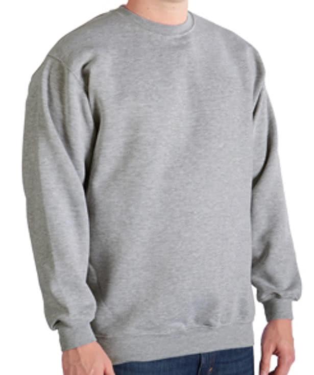 Custom Bayside Heavyweight USA Crewneck Sweatshirt - Design ...