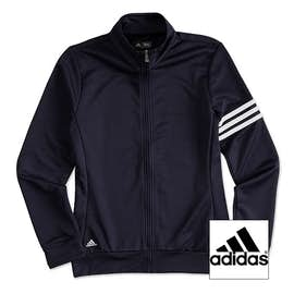 Adidas Ladies ClimaLite Full Zip Performance Sweatshirt