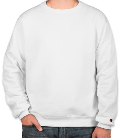 Champion 50/50 Eco Crewneck Sweatshirt - White