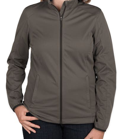 Port Authority Ladies Lightweight Active Soft Shell Jacket - Grey Steel