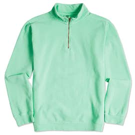 Comfort Colors Quarter Zip Sweatshirt