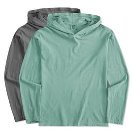 Comfort Colors Hooded Long Sleeve T-shirt