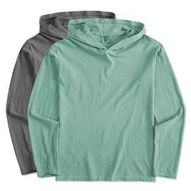 Comfort Colors Hooded Long Sleeve T-shirt