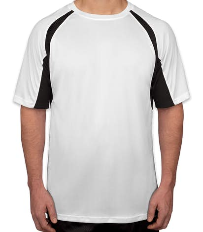 Custom Badger B Dry Contrast Performance Shirt Design