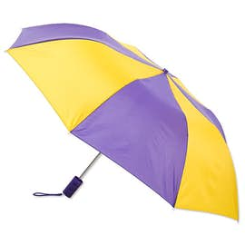 "Vitronic Multi-Tone Auto Open Compact 44"" Umbrella"