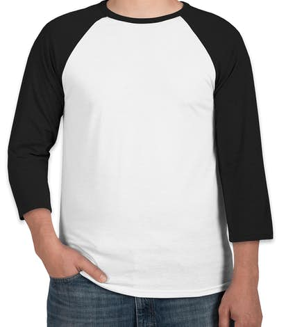 Custom canada canvas lightweight baseball raglan for Custom raglan baseball shirt