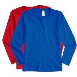 Canada - Gildan Ladies 100% Cotton Long Sleeve T-shirt