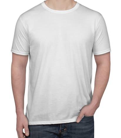 Custom Gildan Softstyle Jersey T-shirt - Design Short Sleeve T ...