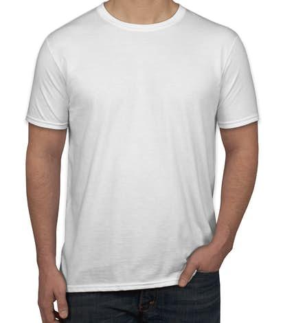 Custom canada gildan softstyle jersey t shirt design t for Custom t shirts gildan