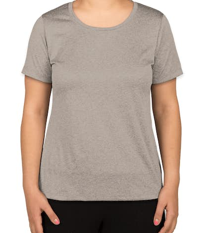 Sport-Tek Ladies Heather Performance Shirt - Vintage Heather