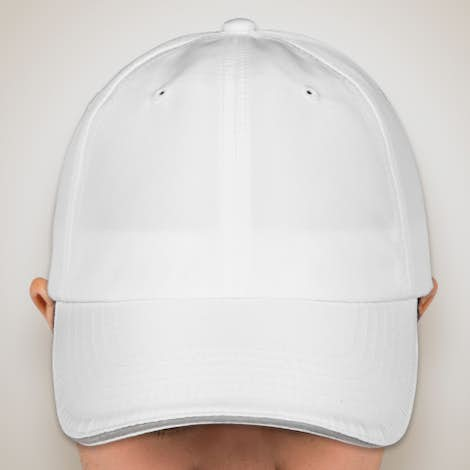 Core 365 Reflective Sandwich Performance Hat - White