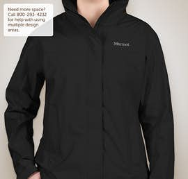 Marmot Ladies Waterproof PreCip Jacket - Color: Black