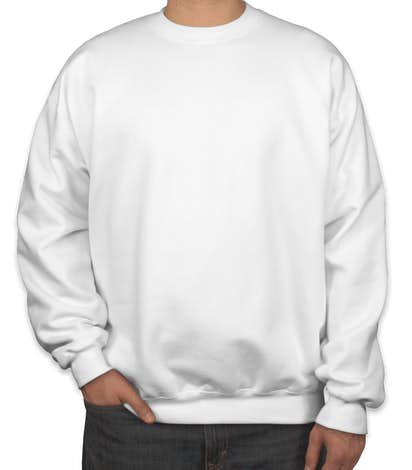 Custom Hanes Ultimate Heavyweight Crewneck Sweatshirt - Design ...