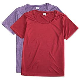 Sport-Tek Ladies Heather Performance Shirt
