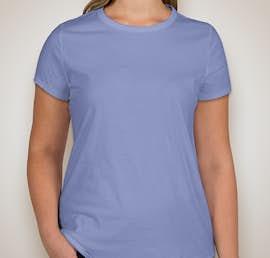GAP Ladies Vintage Wash Crewneck Tee - Color: Moore Blue