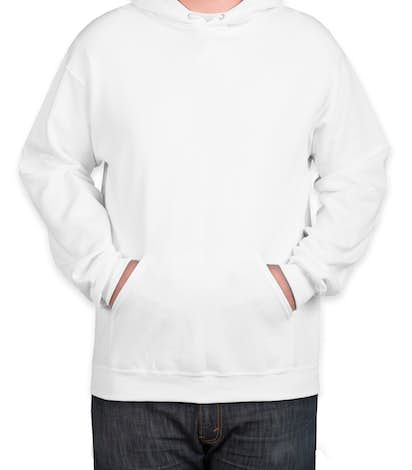 Jerzees Nublend® 50/50 Tall Pullover Hoodie - White