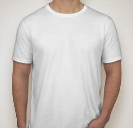Canada - Gildan Softstyle Jersey T-shirt - Color: White
