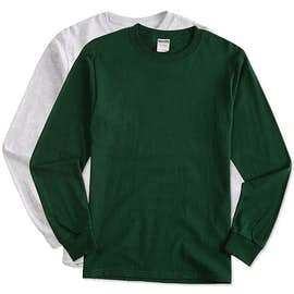 Canada - Jerzees 100% Cotton Long Sleeve T-shirt