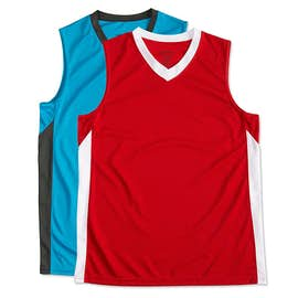 Augusta Ladies Colorblock Basketball Jersey