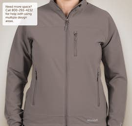 Marmot Ladies Lightweight Tempo Soft Shell Jacket - Color: Cinder